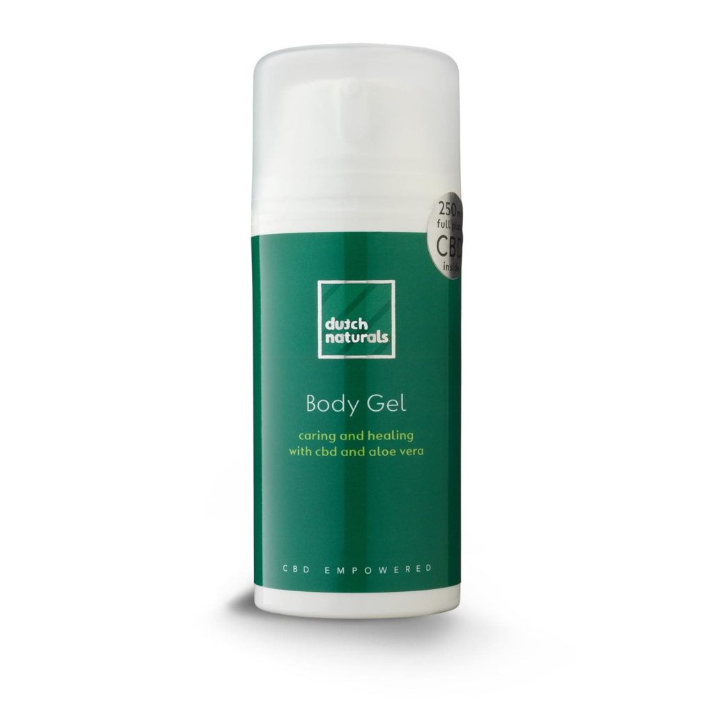 CBD Body Gels Skincare by Dutchnaturals CBD Cosmetics