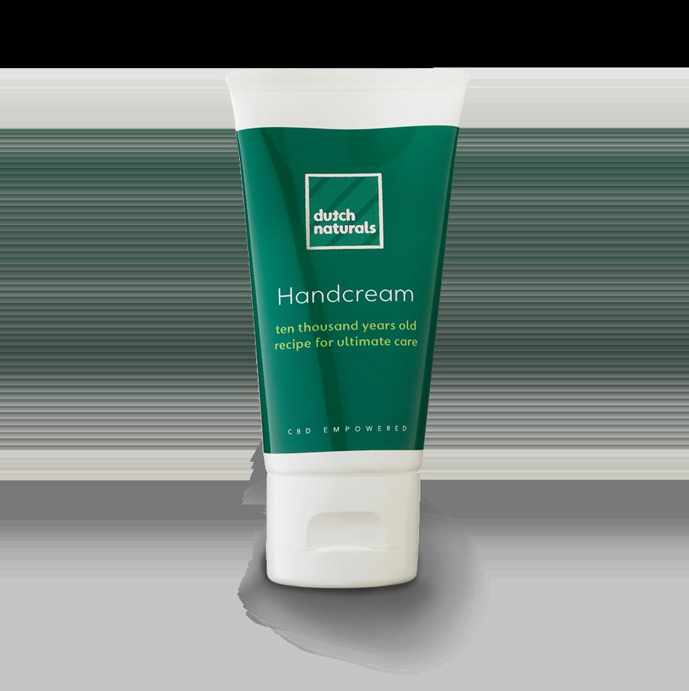 tube of cbd Hand cream by dutchnaturals skincare cosmetics