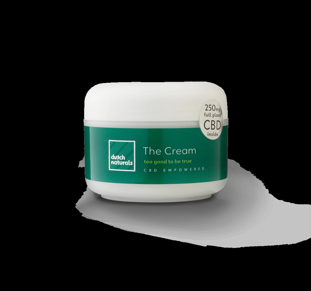 jar of cbd cream by dutchnaturals skincare cosmetics